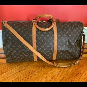 Authentic Louis Vuitton Keepall 60 bandouliere
